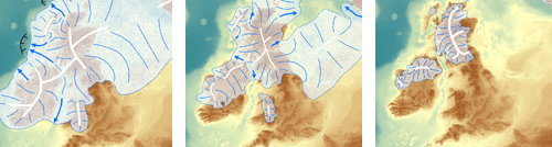 British ice sheet retreat (University of Sheffield)