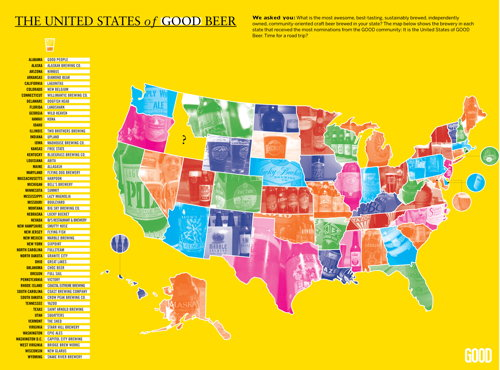The United States of GOOD Beer (pun intended, I suppose)